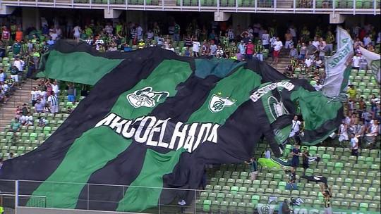 O gol de América-MG 1 x 0 Boa Esporte pelo Campeonato Mineiro