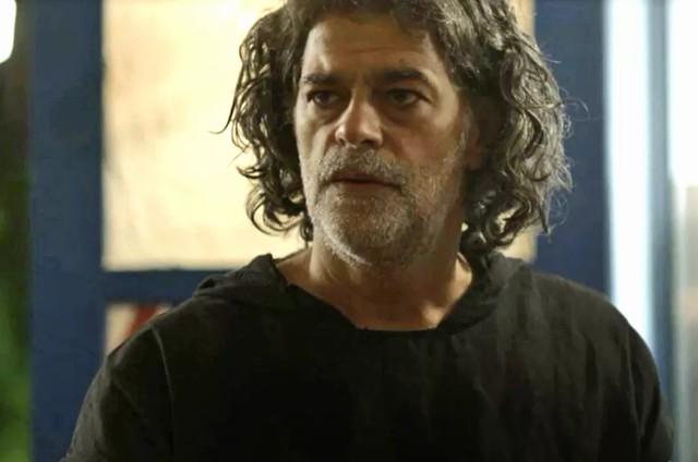 Eduardo Moscovis em 'O Sétimo Guardião' (Foto: TV Globo)