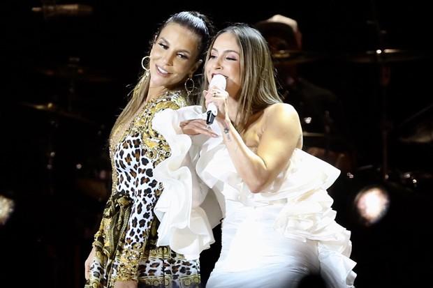 Ivete Sangalo e Claudia Leitte (Foto: Manuela Scarpa/Brazil News)