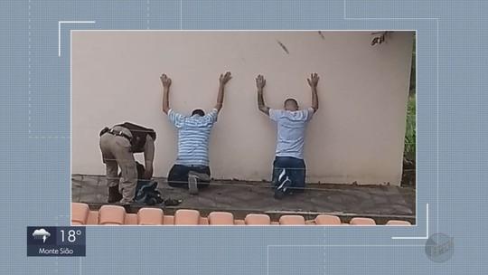 Dois são presos após roubo a casa de médico em Varginha, MG