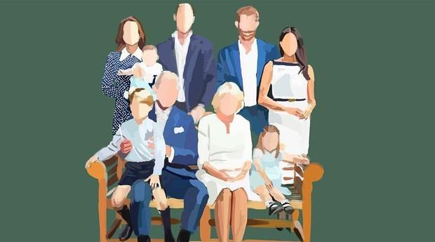 Família Real reunida (Foto: Reprodução/instagram/iamnoyes)
