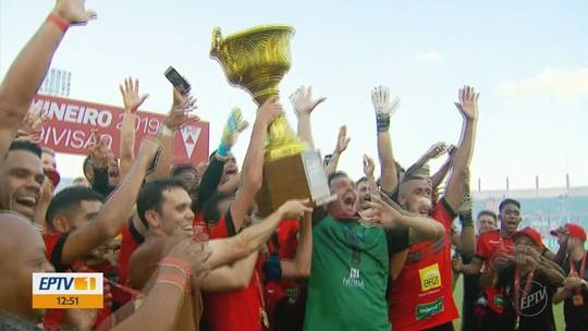 Veja o gol e os melhores momentos de Pouso Alegre 1 x 0 Betim
