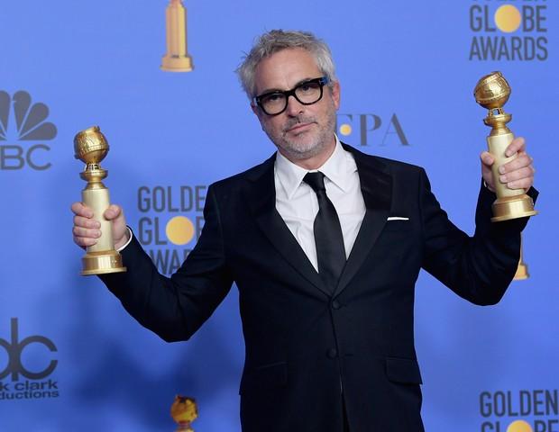 Alfonso Cuarón, diretor de Roma (Foto: Getty Images)