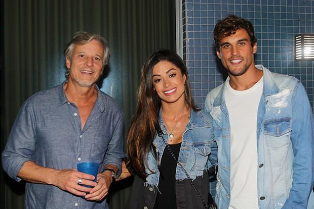 Marcello Novaes, Aline Riscado e Felipe Roque (Foto: Eny Miranda/ Divulgação)
