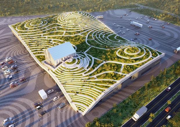 Construção de teto verde com 80 mil m² mudará a paisagem de Taiwan