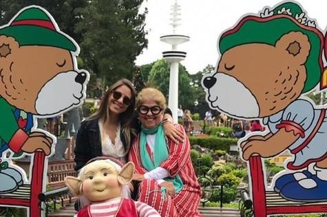 Sônia de Paula e a filha, Maria Eduarda (Foto: Arquivo pessoal)