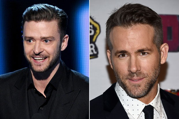Justin Timberlake e Ryan Reynolds (Foto: Getty Images)