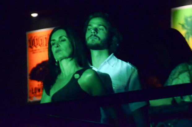 Fátima Bernardes e Tulio Gadelha (Foto: Eduardo Martins / AgNews)