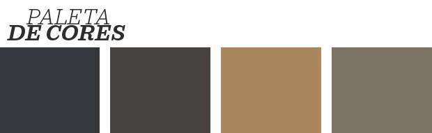 Décor do dia: cozinha escura e com texturas naturais (Foto: reprodução)