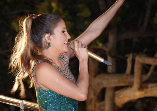 Claudia Leitte se apresenta no Fortal (Foto: Divulgação/Fred Pontes)