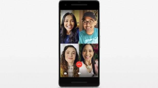 Chamada em vídeo do WhatsApp poderá ter até quatro pessoas simultaneamente (Foto: Reprodução)