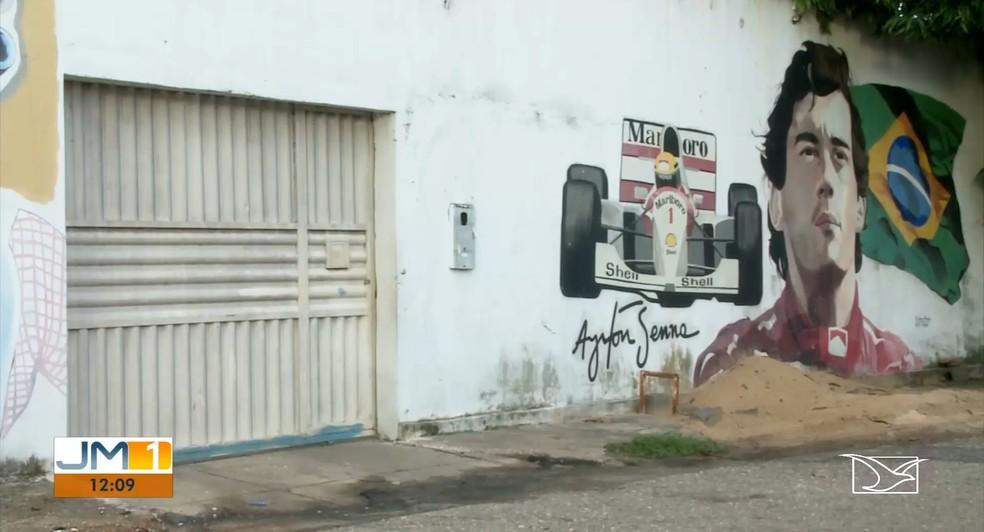 Crime foi registrado na unidade da Funac no bairro Três Poderes, em Imperatriz (MA) — Foto: Reprodução/TV Mirante