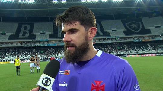 Veja o que os jogadores do Vasco falaram após o empate com o Botafogo