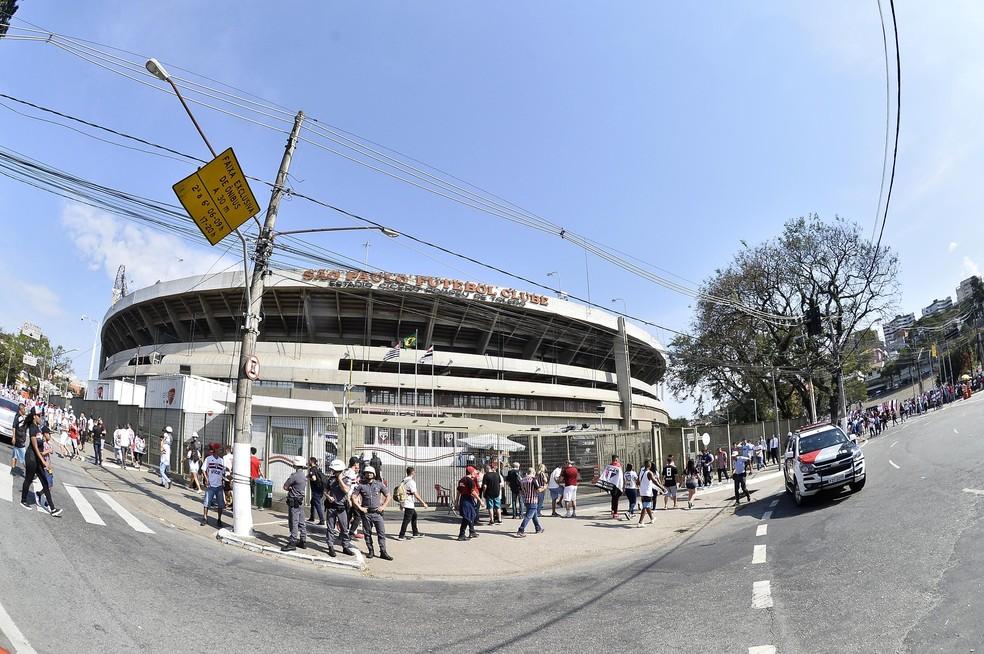 Estádio do Morumbi, em São Paulo — Foto: Marcos Ribolli