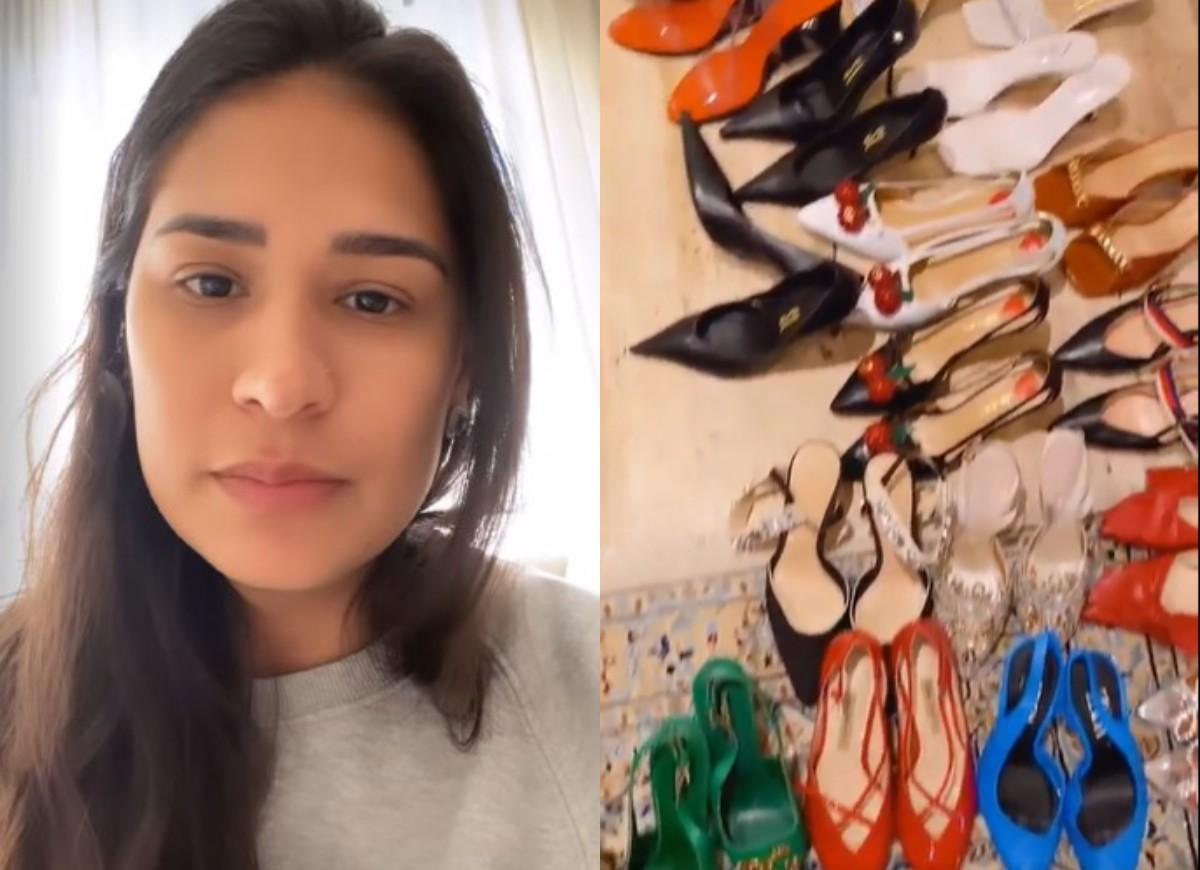 Simone mostra sapatos (Foto: Reprodução/Instagram)