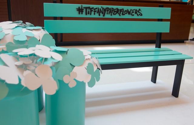 Tiffany promove intervenções azuis por São Paulo para celebrar chegada de nova coleção e abertura de loja (Foto: Divulgação)