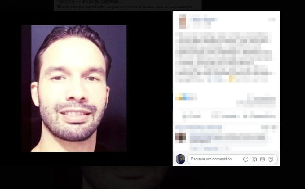 Várias pessoas lamentaram a morte do gerente através das redes sociais.  — Foto: Reprodução / Redes Sociais