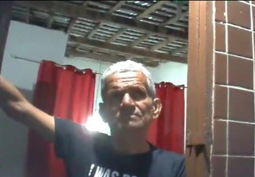 Antonio Patrício, que perdeu a visão do olho esquerdo durante partida em João Pessoa — Foto: Reprodução