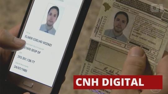 CNH digital deverá ser implantada até fevereiro