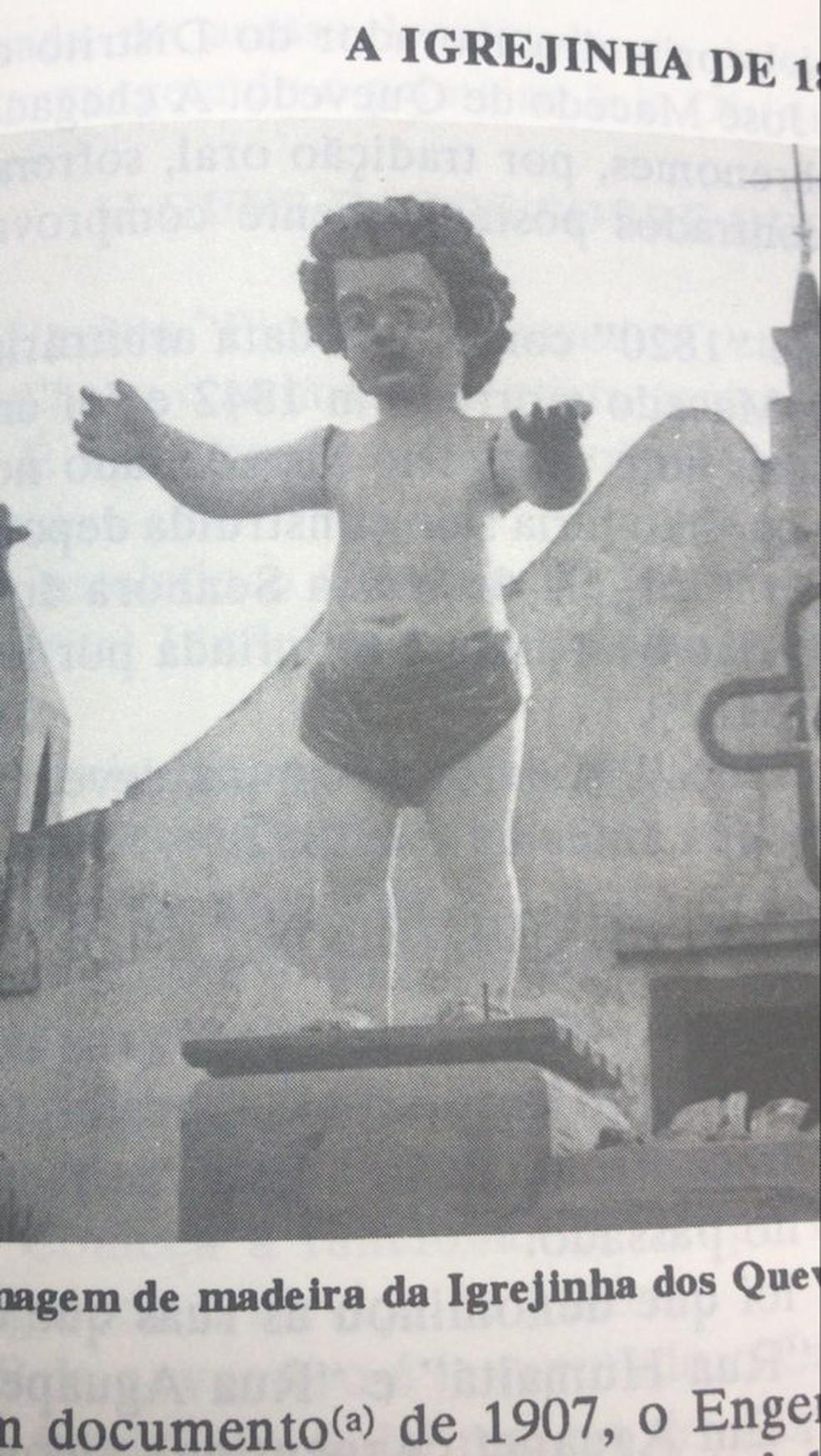 Foto que mostra a escultura — Foto: PUCRS
