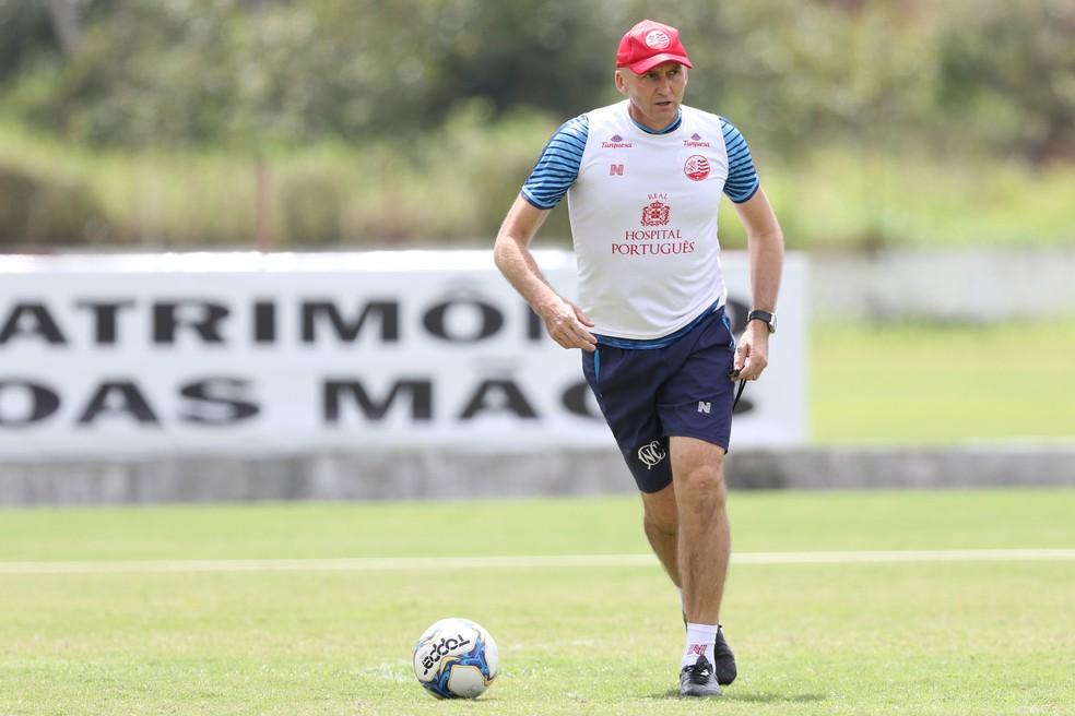 Dal Pozzo quer Náutico mais agressivo — Foto: Marlon Costa/Pernambuco Press