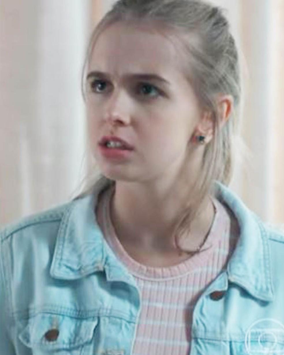 Clara (Isabella Scherer) perde a paciência em 'Malhação - Viva a Diferença' — Foto: Globo
