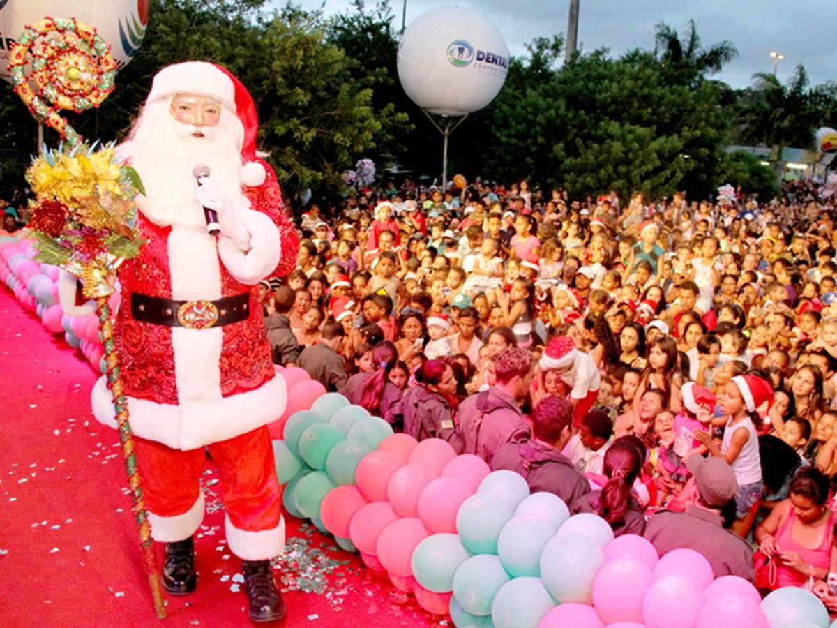 Chegada do Papai Noel acontece neste domingo em Campina Grande