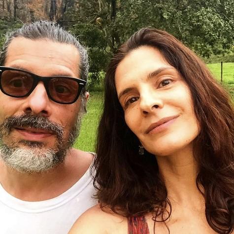 Helena Ranaldi e o companheiro, Daniel Alvim (Foto: Reprodução/ Instagram)