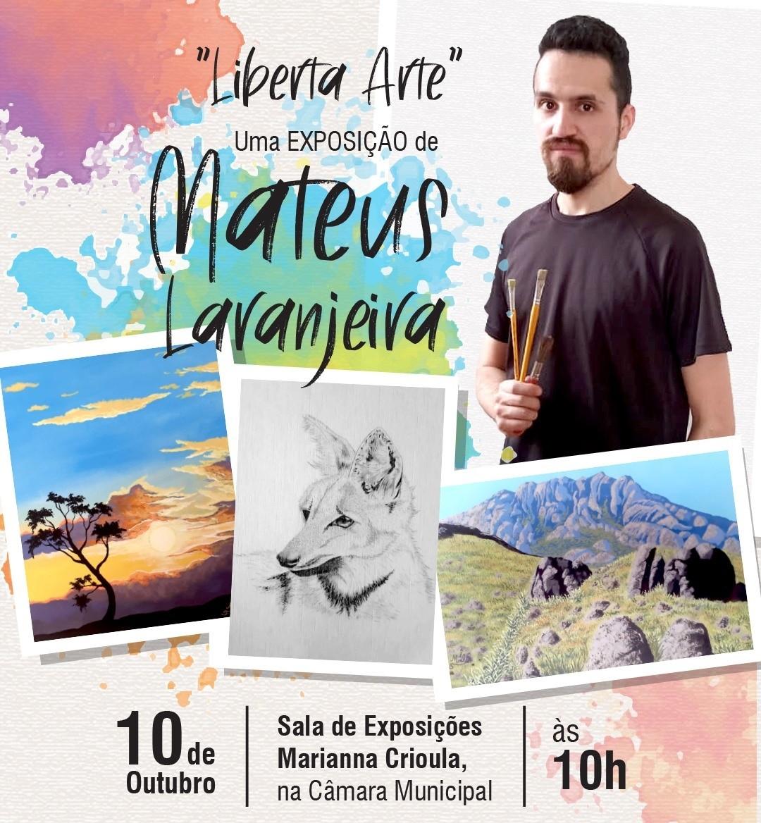 Vassouras recebe exposição com pinturas e desenhos de artista autista da cidade