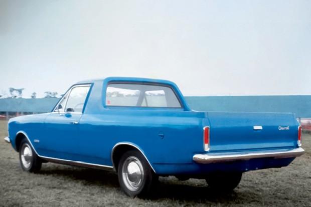 Coluna Marcos Rozen - A picape Opala seria um Chevrolet El Camino brasileiro, mas nunca foi lançada (Foto: Divulgação/ reprodução)