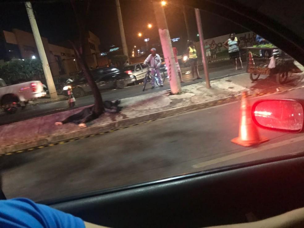 Francisco Lúcio Maia empurrava carrinho quando foi atingido pelo automóvel da médica (Foto: Divulgação)