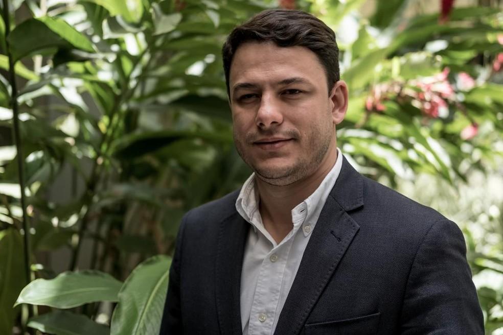 Secretário estadual de Meio Ambiente (sema), André Luiz Torres Baby, foi preso nessa terça-feira — Foto: José Medeiros/Gcom-MT