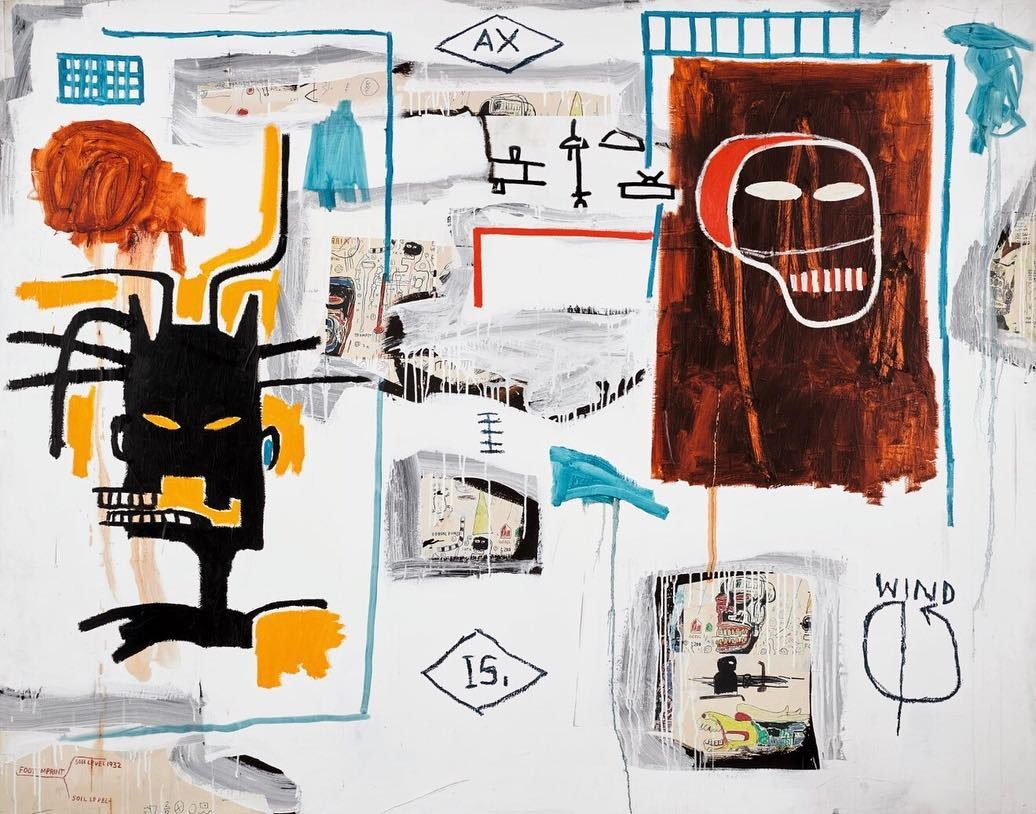 Apex, de Jean-Michel Basquiat (Foto: Sothebys)