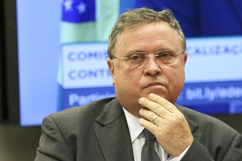 O ministro da Agricultura, Pecuária e Abastecimento, Blairo Maggi, durante audiência pública na CFFC da Câmara dos Deputados (Foto: Marcelo Camargo/Agência Brasil)