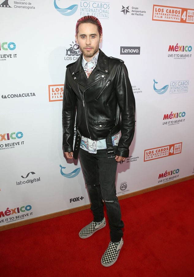 CABO SAN LUCAS, MEXICO - NOVEMBER 11:  Academy Award winning actor Jared Leto attends The 4th Annual Los Cabos International Film Festival Opening Night Gala on November 11, 2015 in Cabo San Lucas, Mexico.  (Photo by Jesse Grant/Getty Images for Leisure O (Foto: Getty Images for Leisure Opportu)