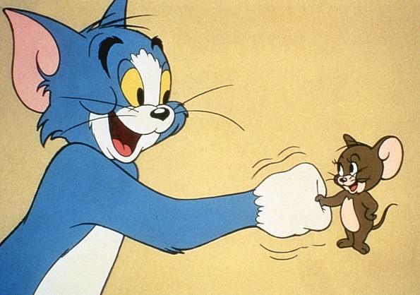 Uma cena do desenho animado clássico de Tom & Jerry (Foto: Reprodução)