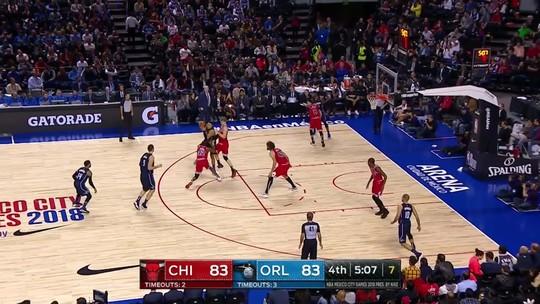 Melhores momentos: Magic 97 x 91 Bulls pela NBA
