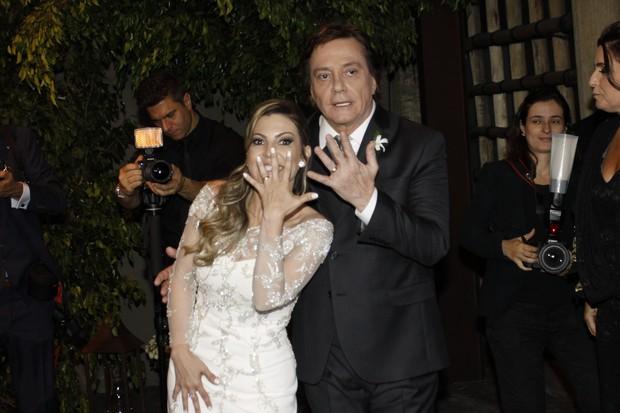 Maria Fernanda Pascucci e Fábio Jr. (Foto: Rafael Cusato / EGO)