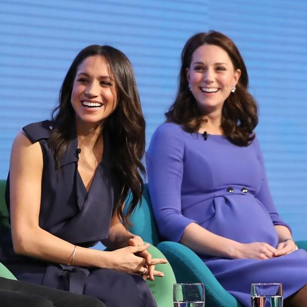 As cunhadas: Meghan e Kate Middleton  (Foto: Getty Images)