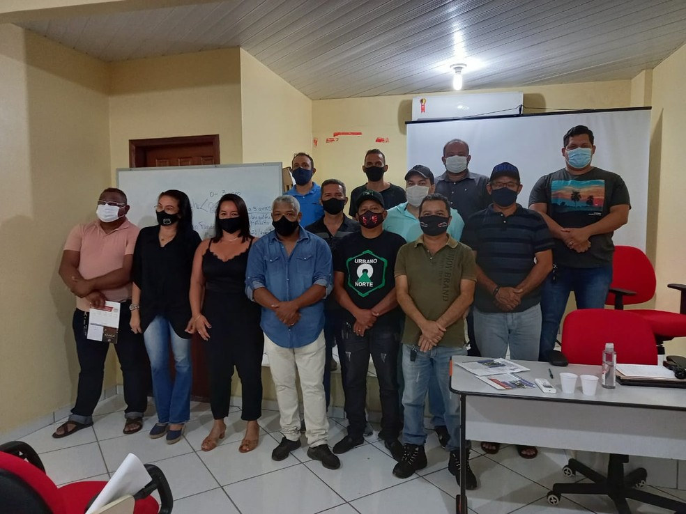 Diretoria foi apresentada em assembleia realizada na segunda-feira, 5 — Foto: SIMAOP/Divulgação