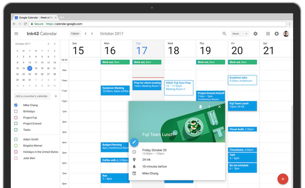 Calendario Per Pc.Calendario Do Google Agenda Ganha Novo Visual No Pc Saiba