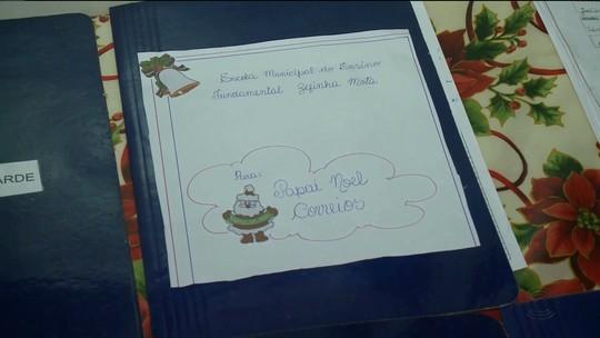 Papai Noel dos Correios em Patos, PB, tem 200 cartas sem apadrinhamento