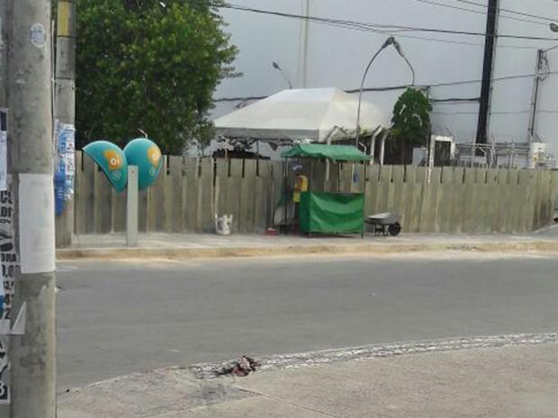 Caso ocorreu na madrugada desta quinta-feira (9), em Salvador (Foto: Vanderson Nascimento/ TV Bahia)