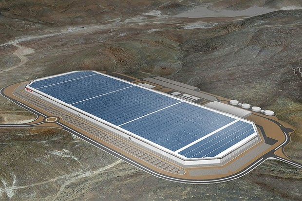 Gigafactory Tesla (Foto: Divulgação)