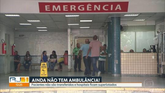 Ainda faltam ambulâncias nos hospitais do Rio