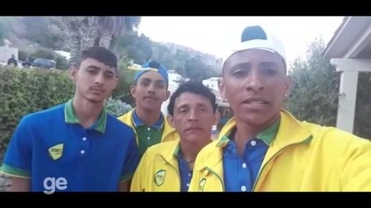 'Presente de Deus', diz técnico sobre Brasil finalista do Mundial Escolar de Vôlei de Praia
