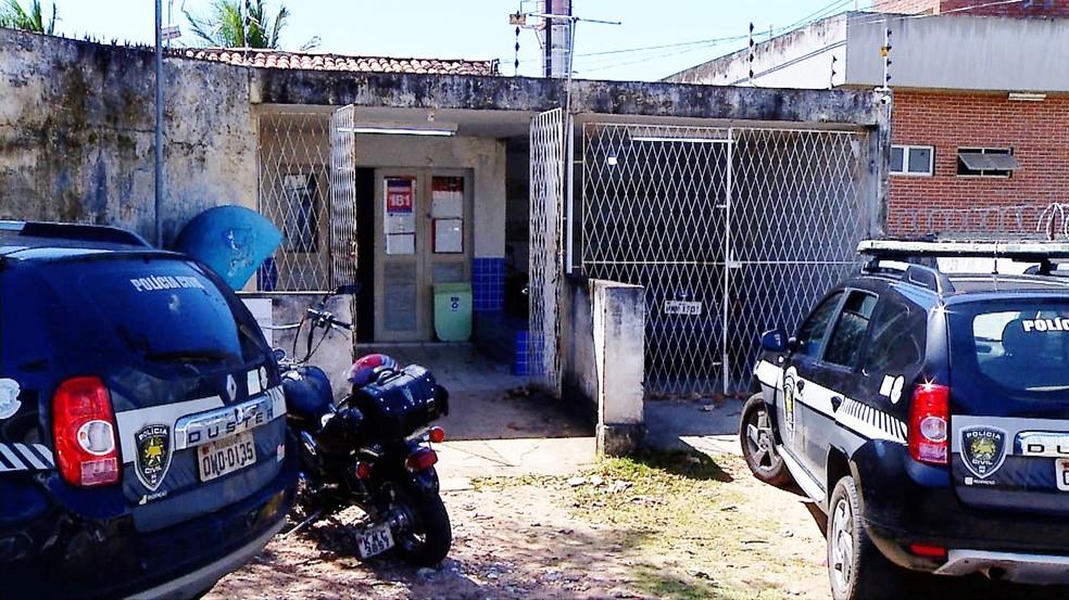6ª DP fica no bairro Pajuçara, na Zona Norte de Natal (Foto: Inter TV Cabugi/Reprodução)