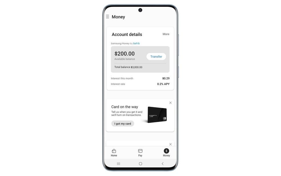 Samsung Money deve chegar aos Estados Unidos no final de setembro — Foto: Divulgação/Samsung