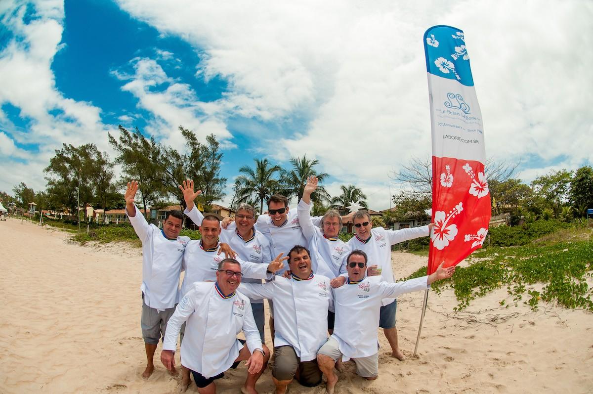 Encontro gastronômico que reúne cozinhas brasileira e francesa é realizado em Búzios, no RJ