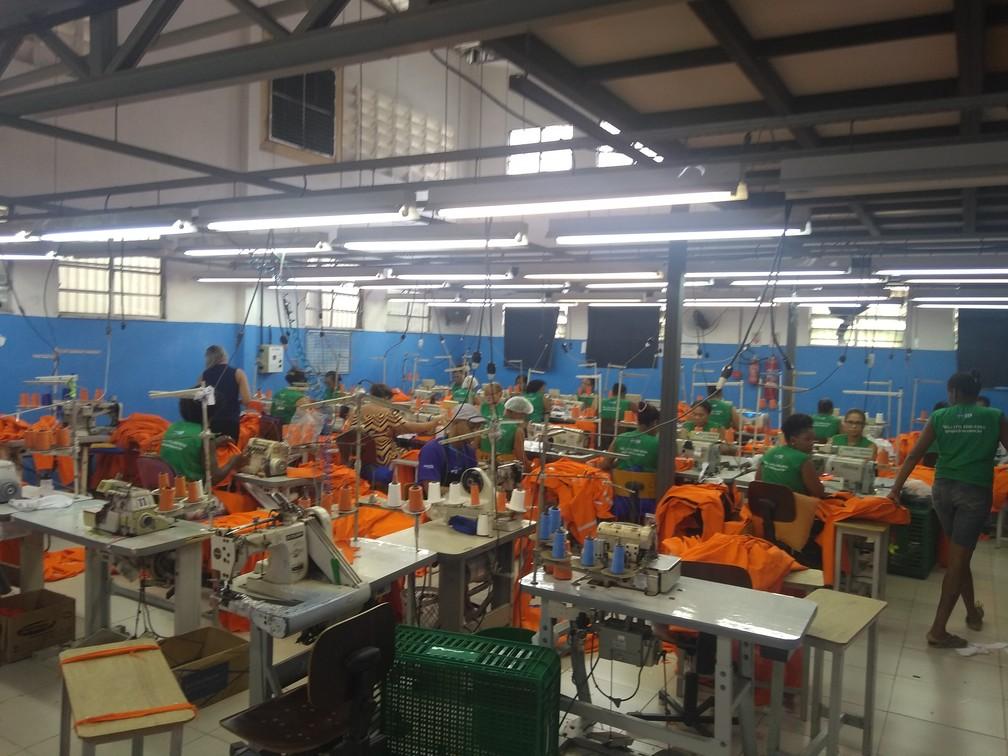 Condomínio Bahia Têxtil já gerou mais de 700 empregos diretos — Foto: Divulgação/SDE